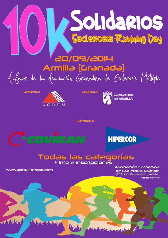 "10K SOLIDARIOS ""Esclerosis Running Day"""