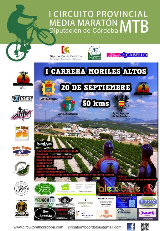 I CARRERA MORILES ALTOS