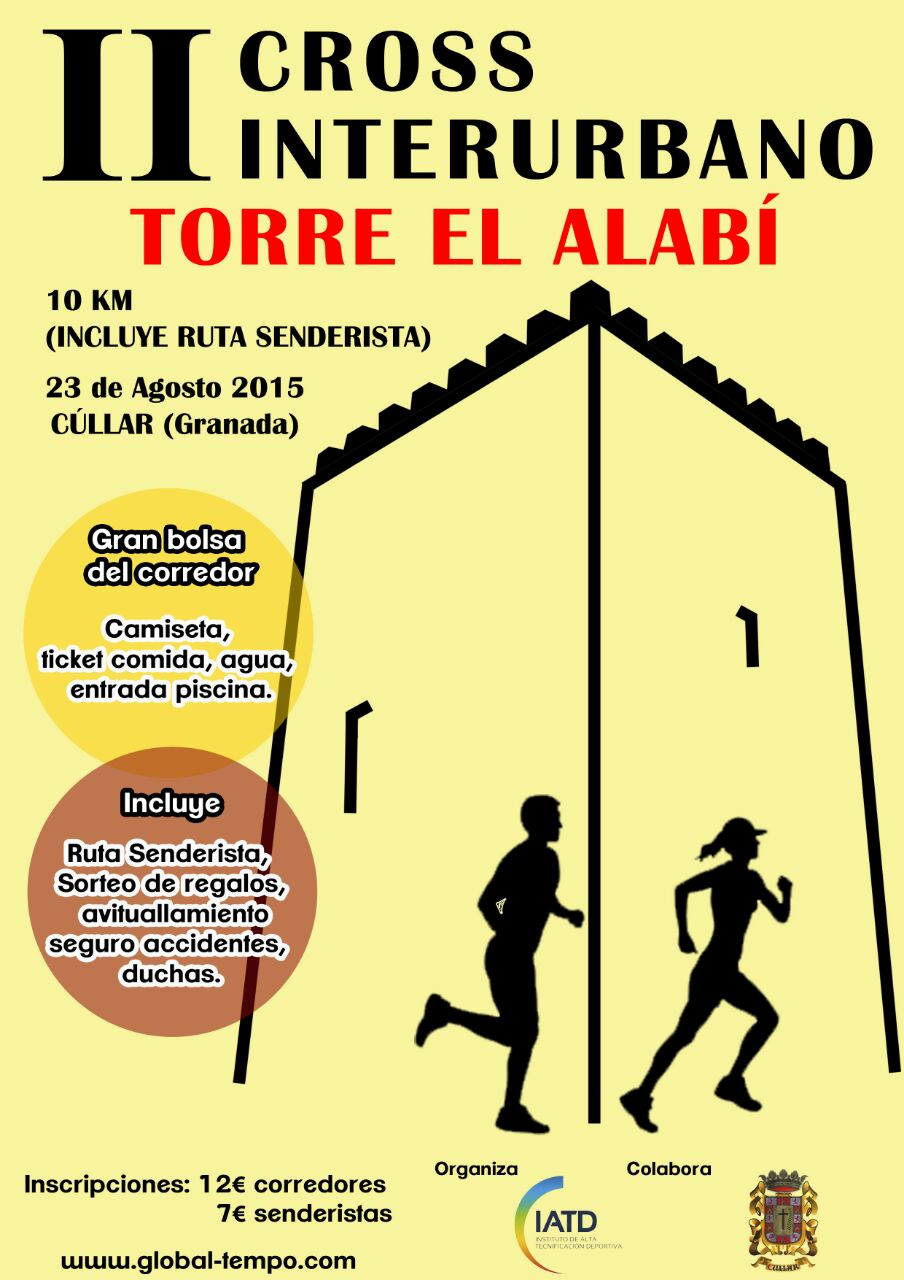 "II CROSS INTERURBANO ""EL ALAB�"""