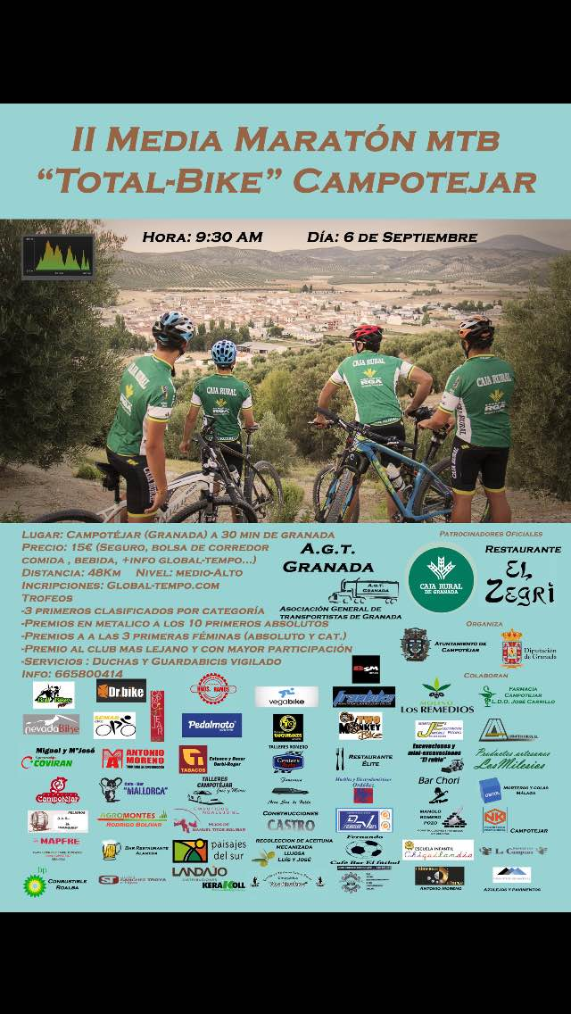 "II MEDIA MARAT�N MTB ""TOTAL-BIKE"""