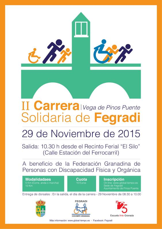 II CARRERA INCLUSIVA FEGRADI 2015