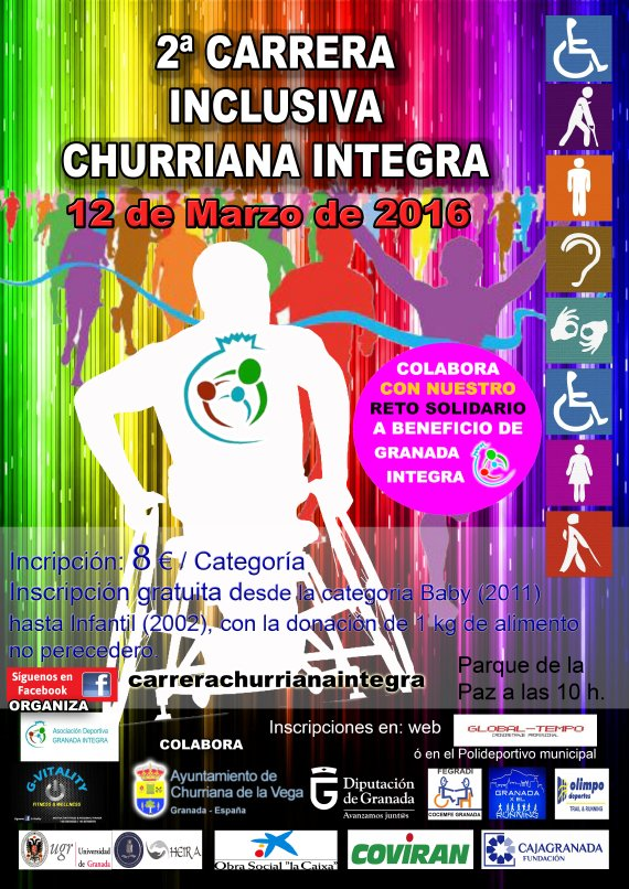 2� CARRERA INCLUSIVA CHURRIANA INTEGRA