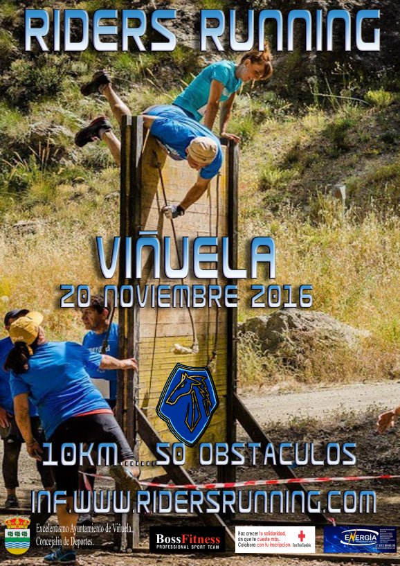 RIDERS RUNNING VI�UELA