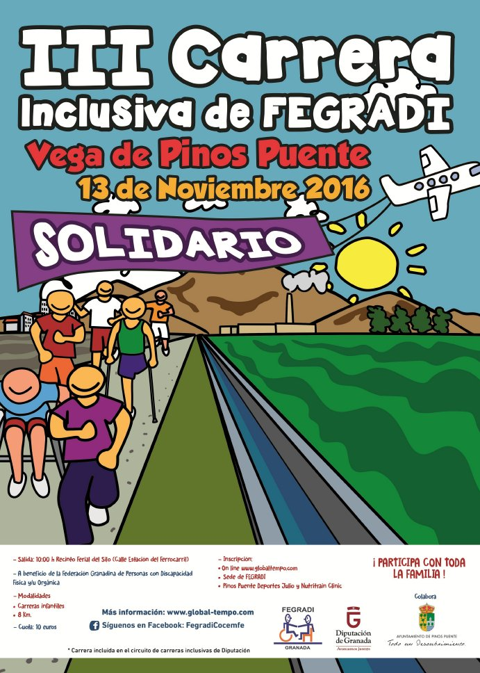 III CARRERA INCLUSIVA DE FEGRADI