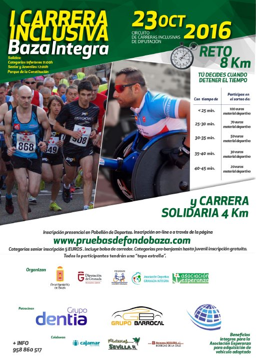 I CARRERA INCLUSIVA BAZA INTEGRA