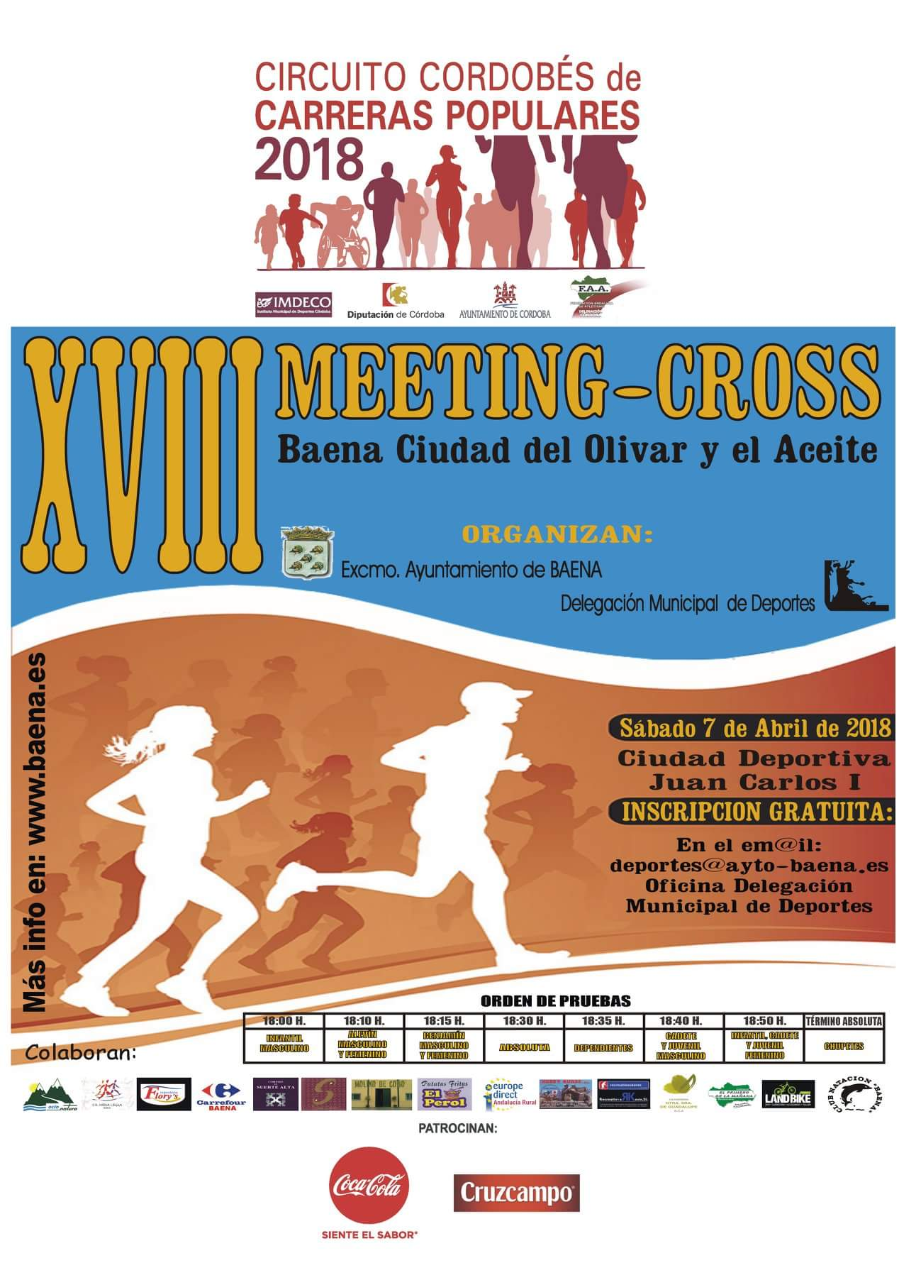 XVIII MEETING-CROSS DE BAENA